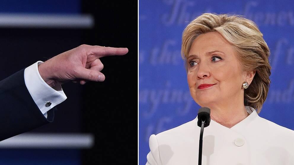 Demokraternas presidentkandidat Hillary Clinton.
