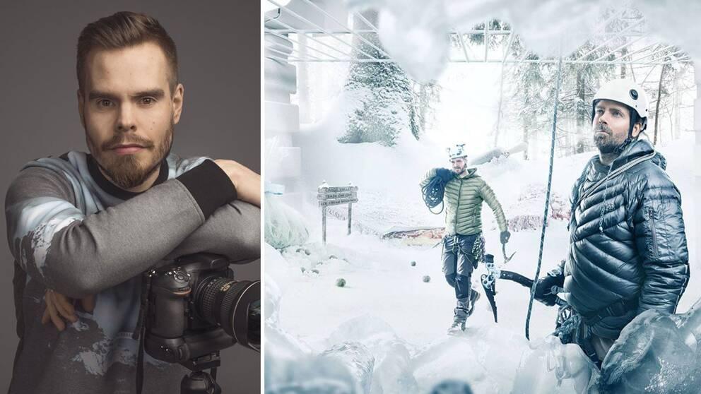 Fotograf Andreas Varro, detalj ur reklamfoto