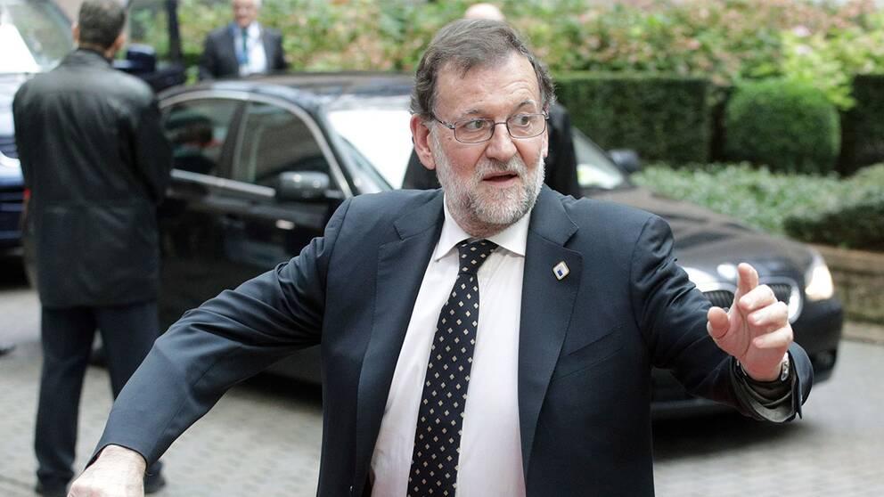 Den spanske premiärministern Mariano Rajoy.