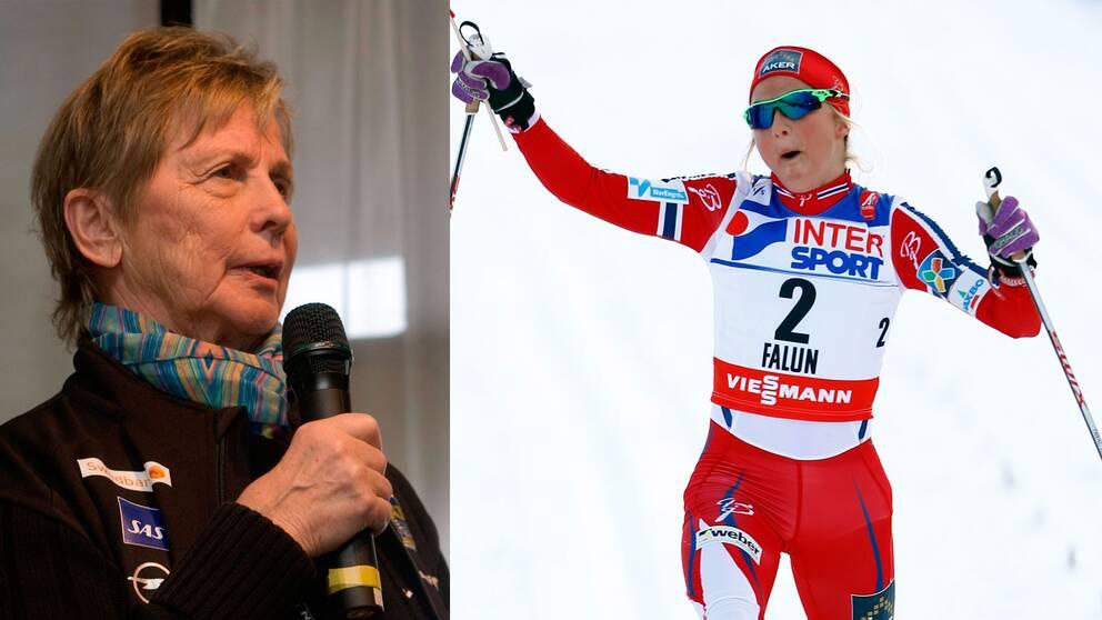 """Toini Gustafsson Rönnlund tycker att Therese Johaugs dopningsfall """"förstör oerhört""""."""