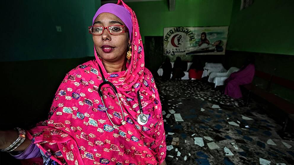 Aisha Adan Dahur, läkare Mogadishu