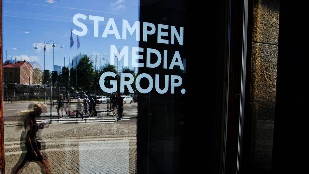Rekonstruktionen av mediekoncernen Stampen