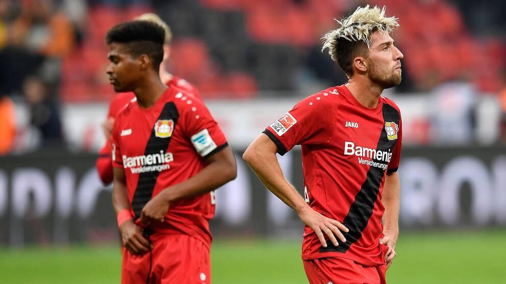 Besviket i Bayer Leverkusen