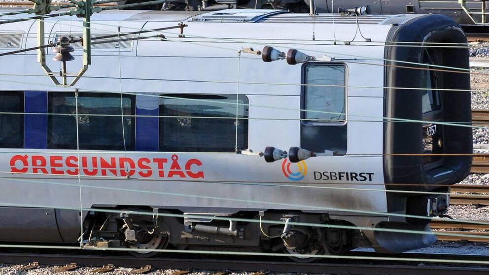 Tågstopp efter olycka på Hallandsåsen.