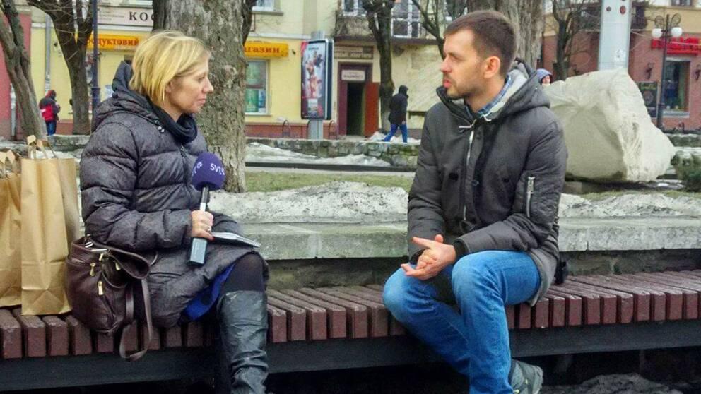 SVT:s Elin Jönsson träffar Jurij Filijuk som står bakom intitativet som förvandlat staden Ivano-Frankivsk.