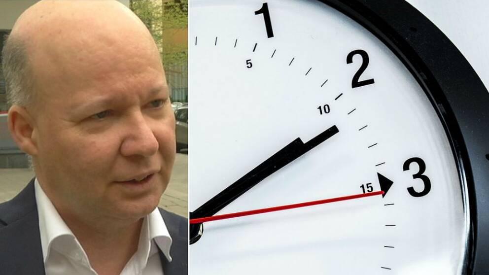 Stefan Nilsson (MP), klocka