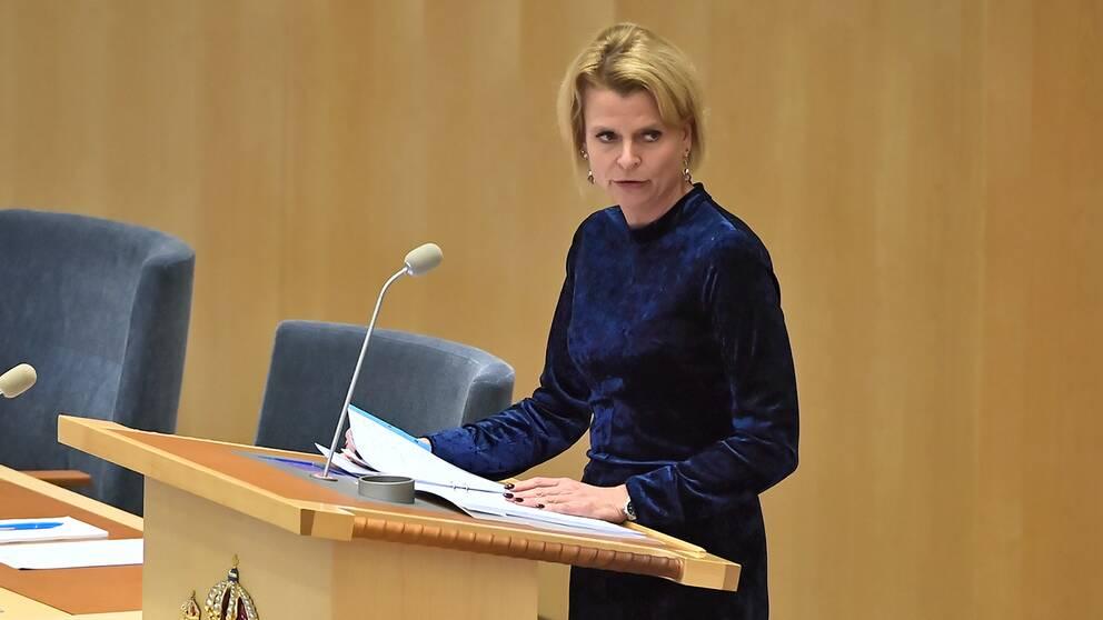 Åsa Regnér, barn-, äldre och jämställdhetsminister (S).