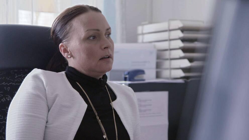 Ann-Sofi områdeschef