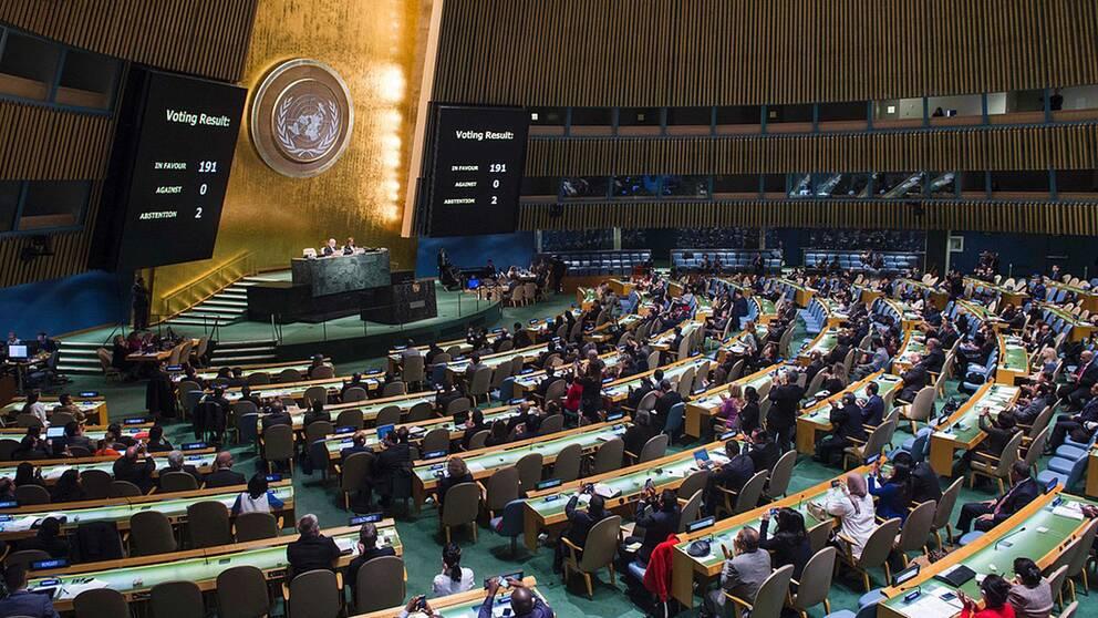 FN-högkvarteret i New York