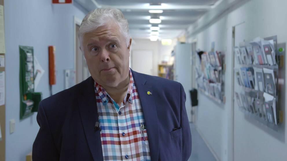 Yngve Gustafsson, överläkare och professor i geriatrik