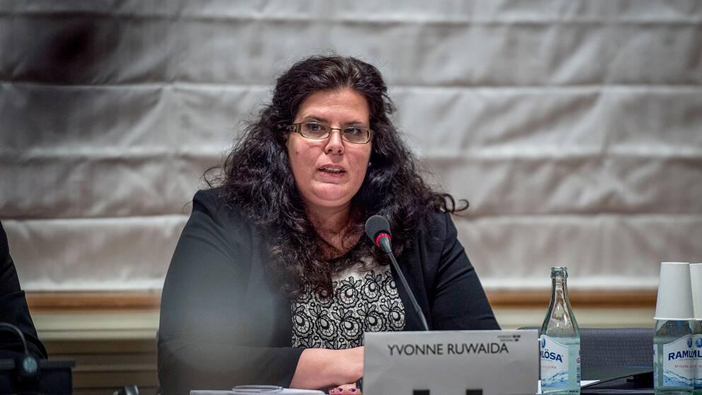Yvonne Ruwaida får en tjänst på Vattenfall efter att ha arbetat med frågor rörande företaget som statssekreterare. Arkivbild.Yvonne Ruwaida får en tjänst på Vattenfall efter att ha arbetat med frågor rörande företaget som statssekreterare. Arkivbild.