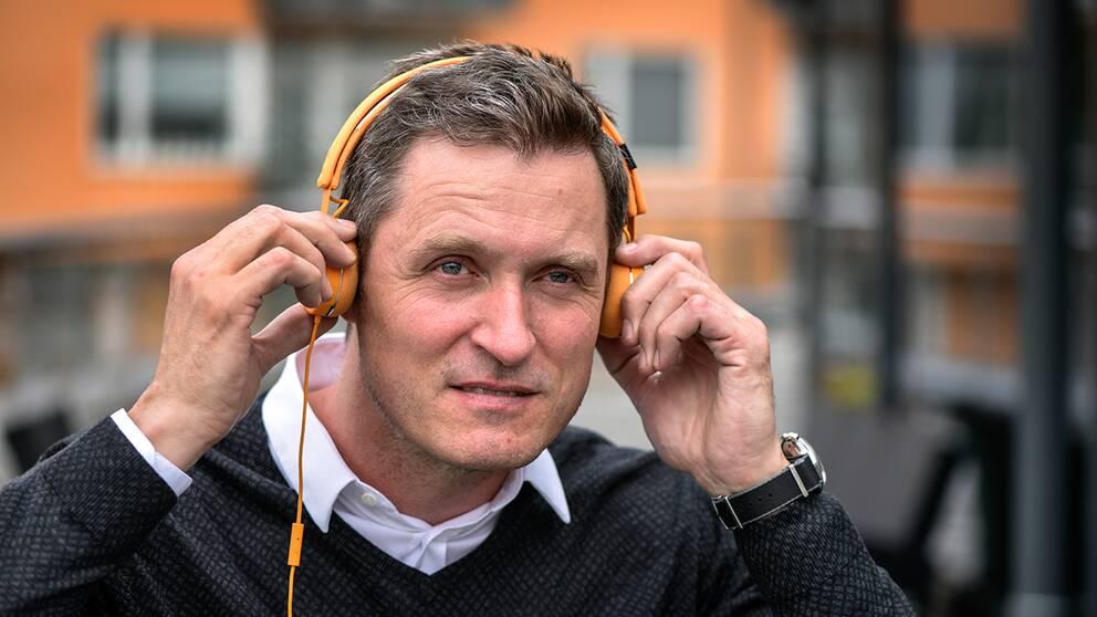 Jonas Tellander, vd för Storytel.