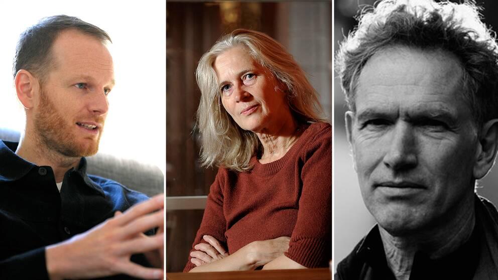 Regissören Joachim Trier, författaren Katarina Frostenson och kompositören Hans Abrahamsen prisades på tisdagskvällen.