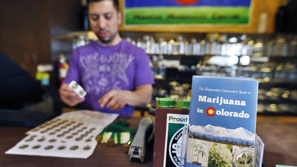 Colorado var först ut att legalisera cannabis. En studie visar att 30 procent står för 87 procent av efterfrågan.
