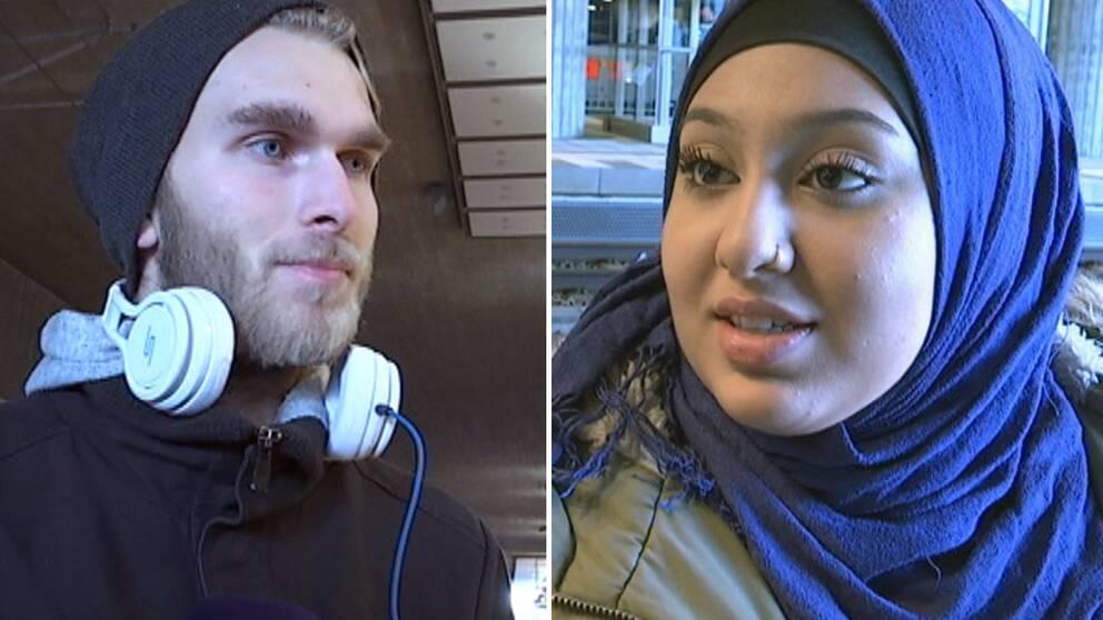 Michael Andersson och Aayman Ali pendlar till Danmark.