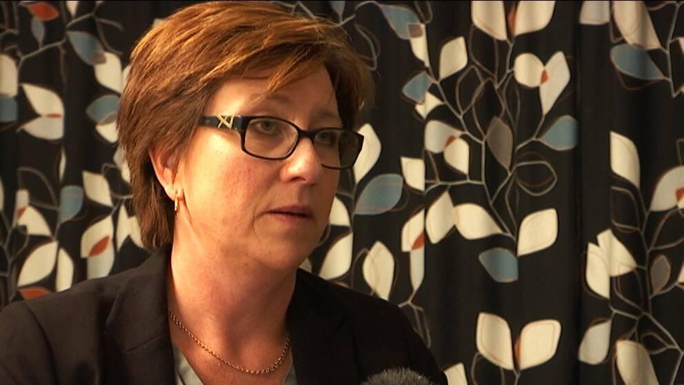 Regionråd Stina Höök (M).