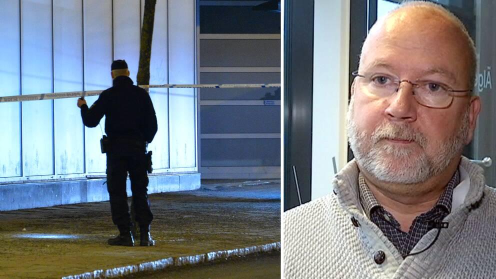 """""""När man avslutar en sådan insats och ska försöka fasa in det till den dagliga verksamheten blir det naturligtvis en mindre resurs och en mindre operativ fart"""", säger Gunnar Appelgren, tidigare insatsledare för polisens specialsatsning Tore II."""