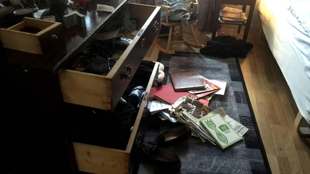 Inbrott villa i Marieberg utanför Örebro.