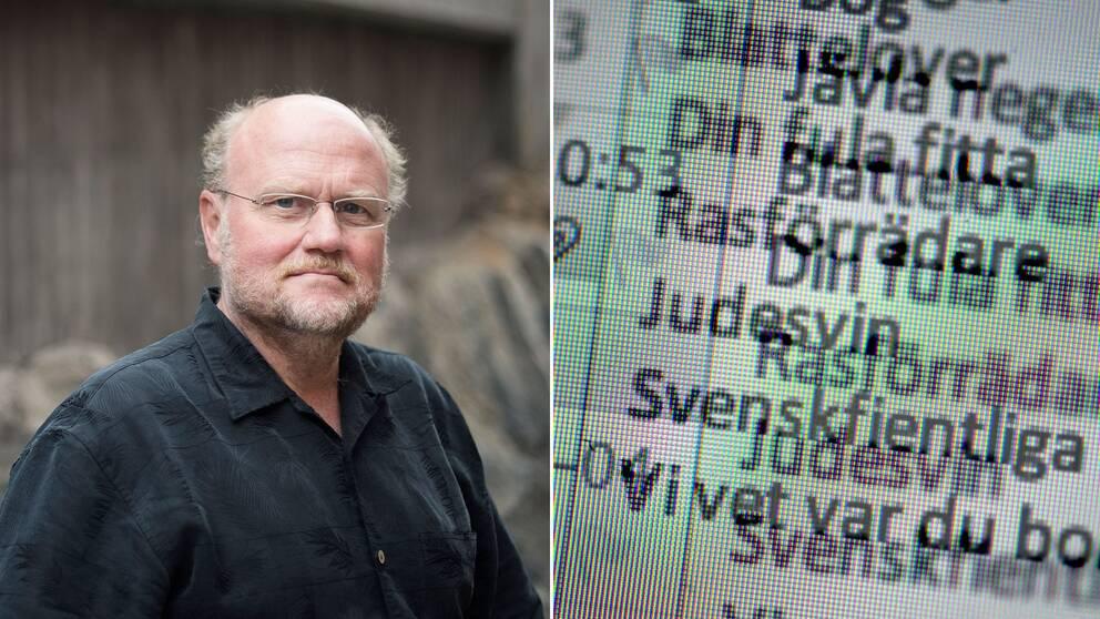 Ola Larsmo, ordförande i Svenska PEN.