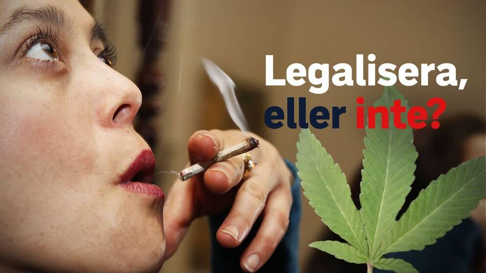Ska det bli helt lagligt att röka cannabis i USA? Här är argumenten för att legalisera.