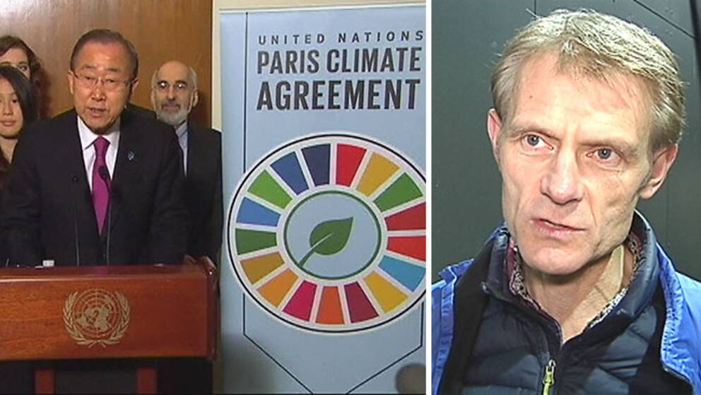 Kevin Anderson, gästprofessor i klimatledarskap på Uppsala universitet.
