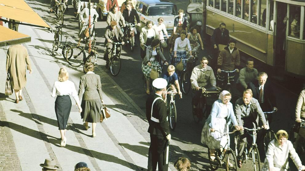 Köpenhamn cykel 1960