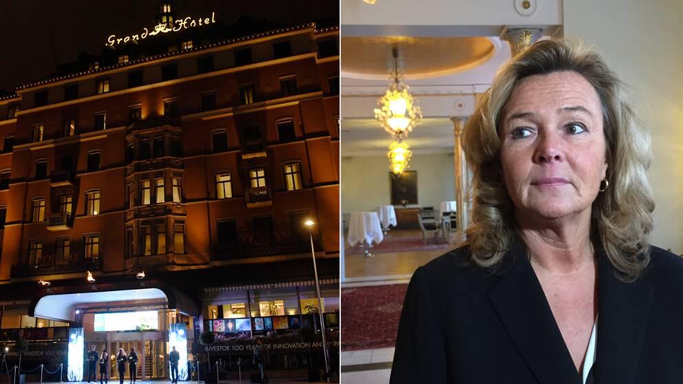 Pia Djupmark, vd på Grand Hôtel.