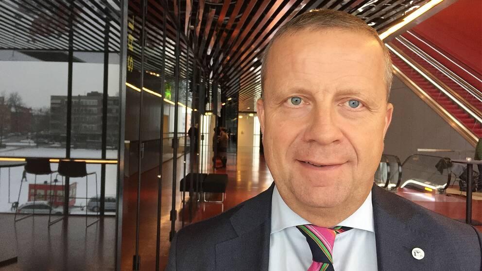 Fredrik Ahlstedt (M) kommunalråd