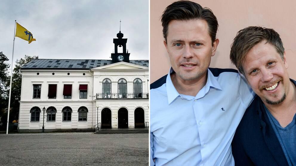 Köpings kommunhus, Filip Hammar och Fredrik Wikingsson