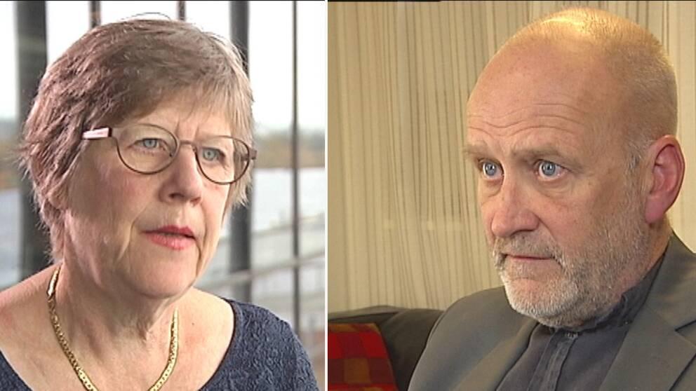 Agnes Wold och Carl-Gustaf Bornehag