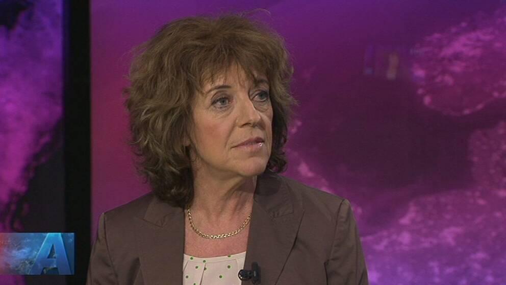 SVT:s Margit Silberstein.