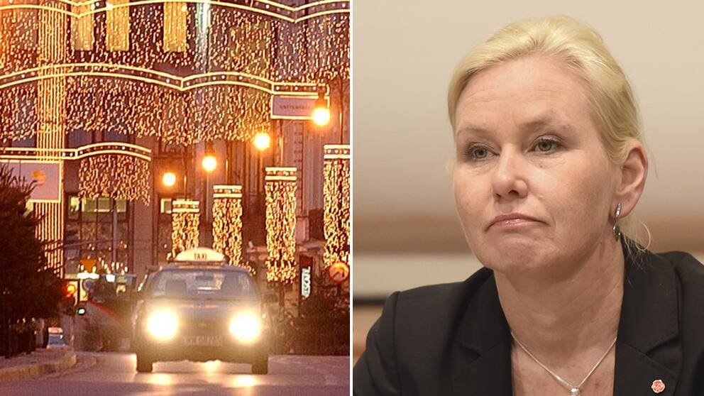 Infrastrukturminister Anna Johansson (S).