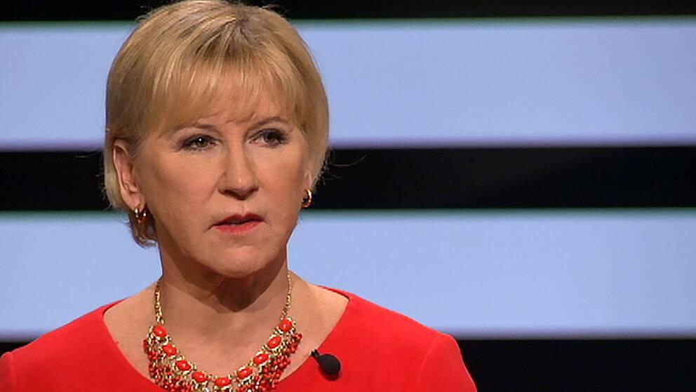 Margot Wallström (S), utrikesminister.