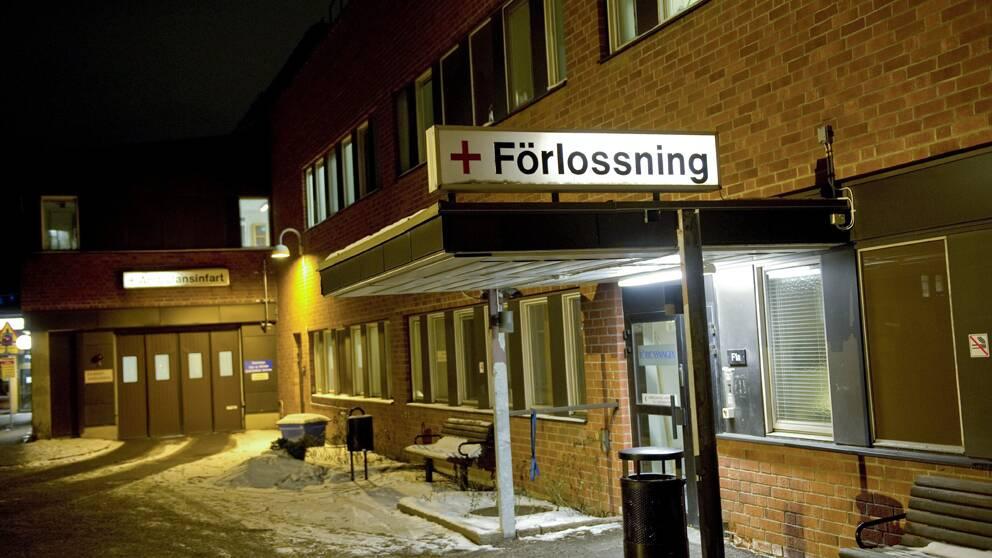 SVT tillbringade ett arbetspass med barnmorskorna på förlossningen vid Karolinska sjukhuset i Stockholm.