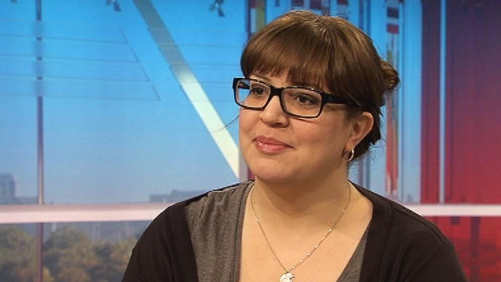Teknikexperten Julia Skott gästar Gomorron Sverige, 20 mars.