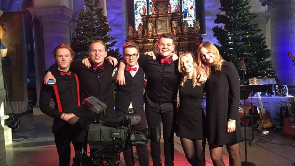 Ungdomar i Nikolaikyrkan i Örebro