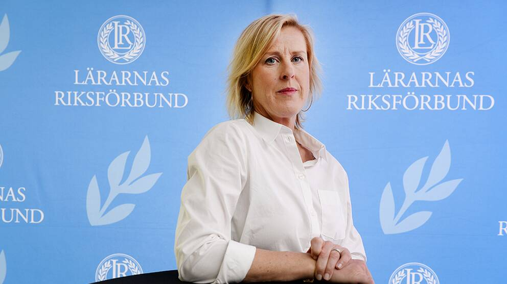 Åsa Fahlén, ordförande Lärarnas Riksförbund.
