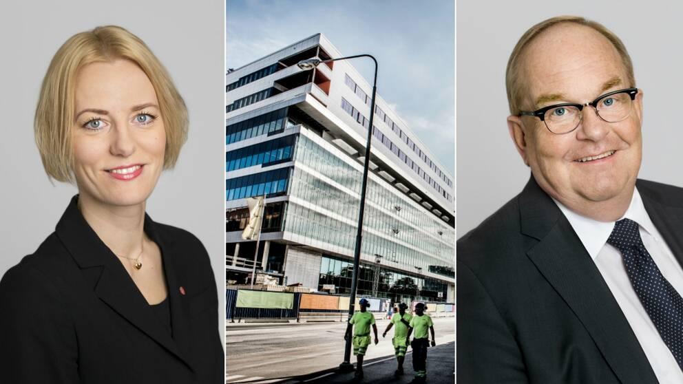 Erika Ullberg, Nya Karolinska, Torbjörn Rosdahl