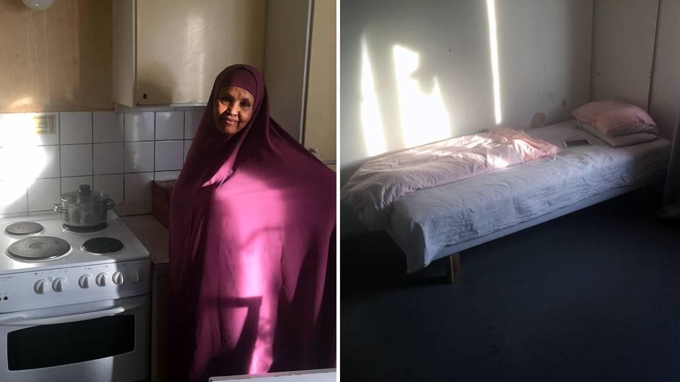 Amina, rinkeby, sovrum