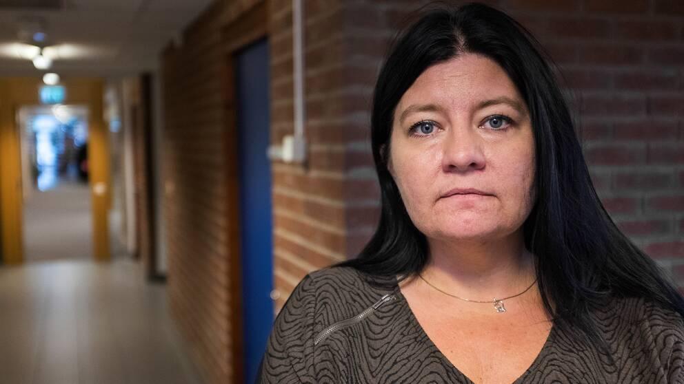 Porträtt på Helena Proos, Finanskommunalråd Enköpings kommun.
