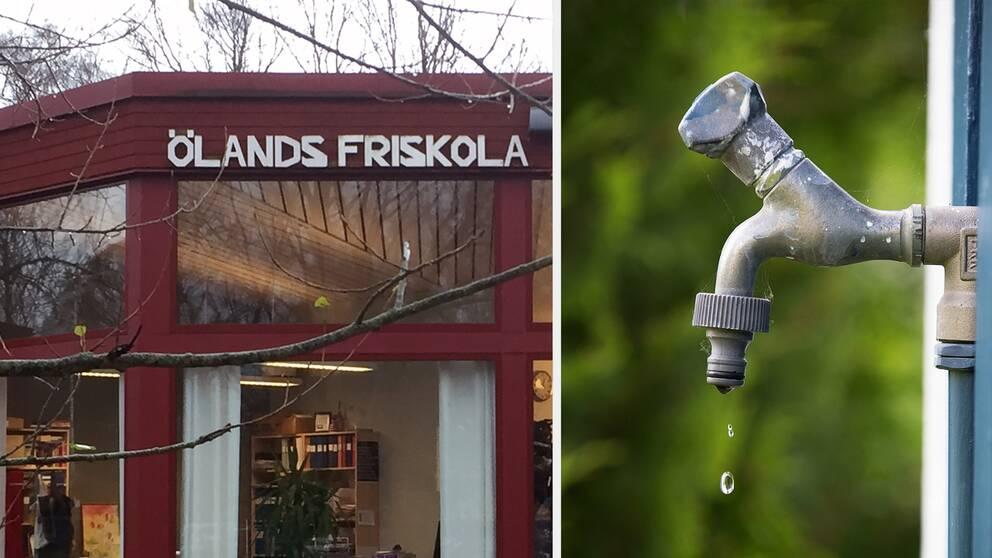 Skolor på Öland måste spara in på lärartjänster på grund av vattenkrisen