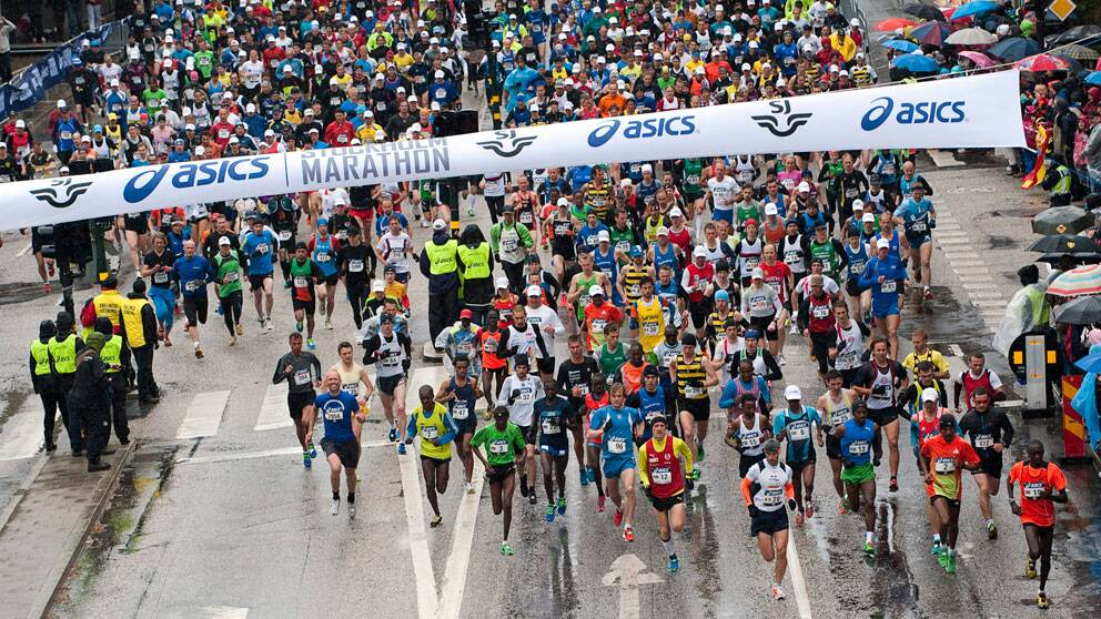 Stockholm marathon 2012. Foto: Scanpix