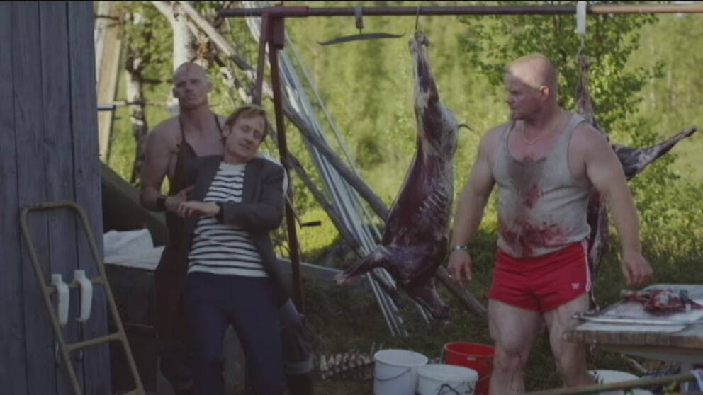 Bild ur SVT-serien Midnattsol