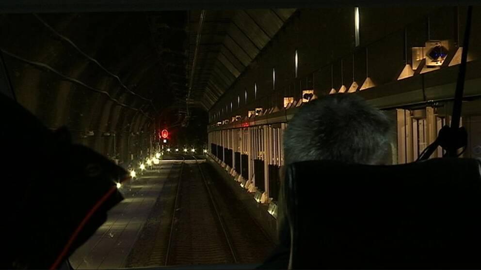 Citybanans tunnel