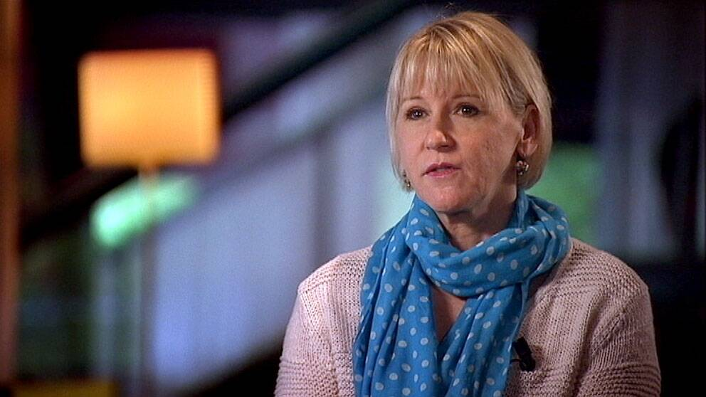 Margot Wallström. Foto: SVT