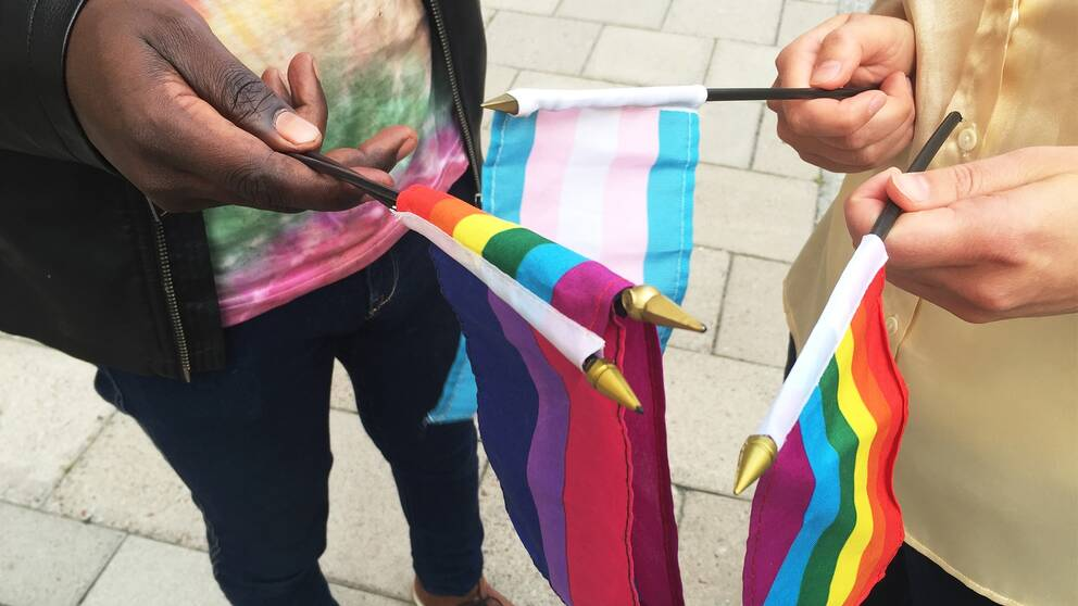 I dag hålls en manifestation i Uppsala för att uppmärksamma hot och våld mot transpersoner.