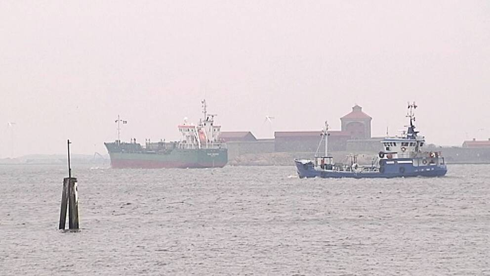 Fartyg i Östersjön