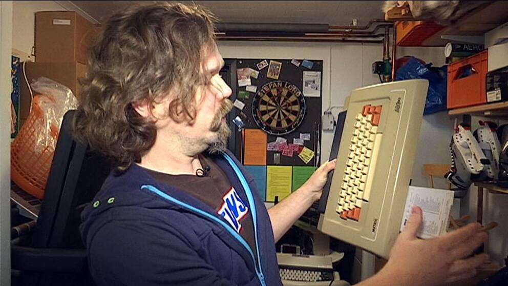 Thomas Sunhede har skrivit en spelbok om videospel.