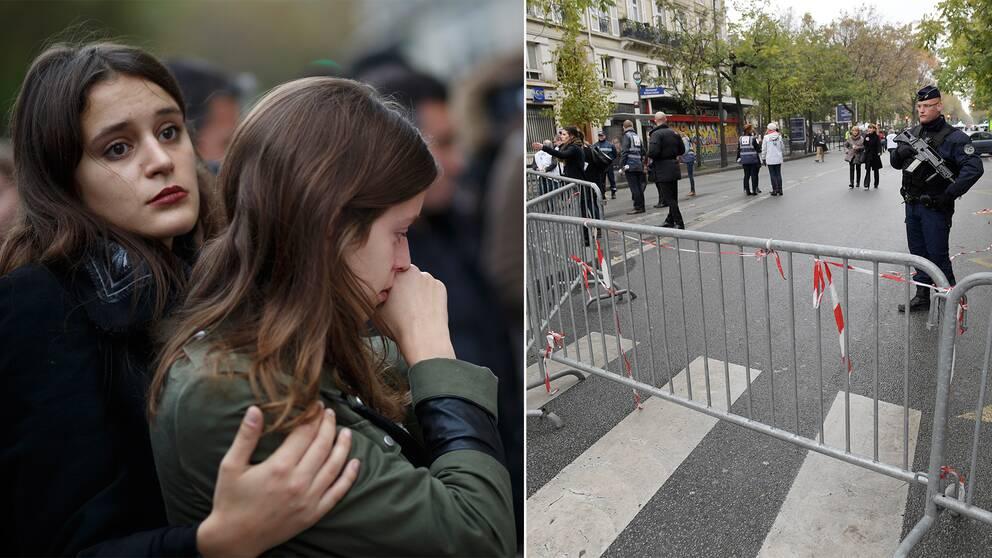 Arkivbild från 13 november 2016, årsdagen av terrorattacken i Paris.