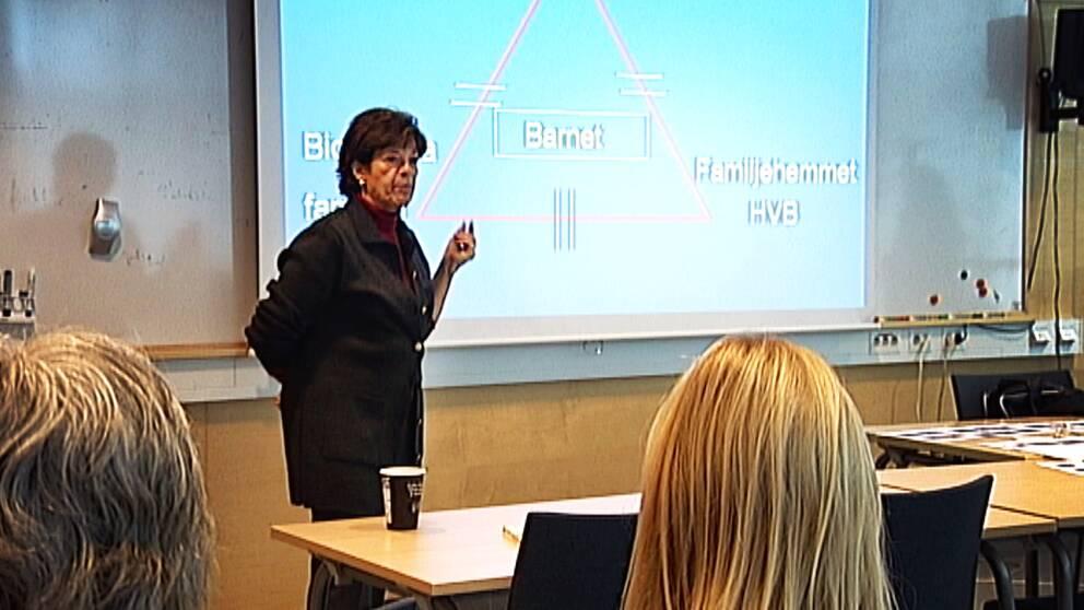Seminarium om sexuella övergrepp i Linköping.